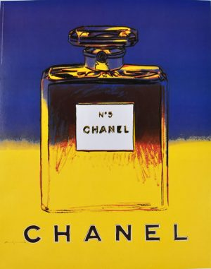 Chanel No. 5 Blue Yellow
