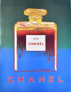 Chanel No 5 Blue & Green