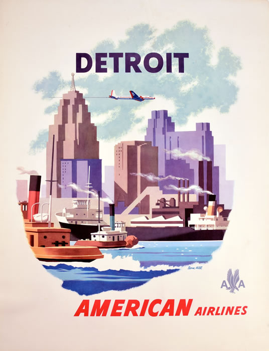 Detroit American Airlines