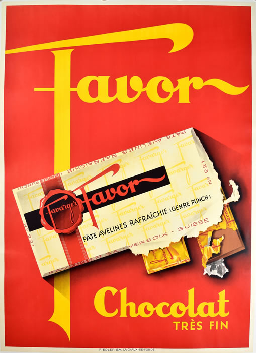 Favor Chocolate Red
