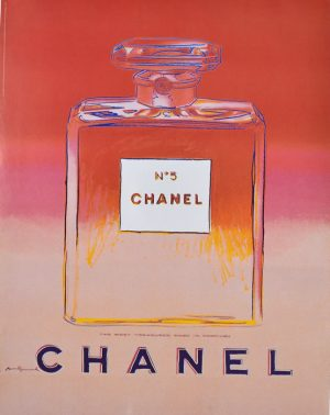 Pink & Red Chanel No. 5-Warhol