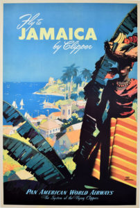 Fly To Jamaica Pan Am-Von Arenburg