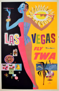 Las Vegas TWA Constellation-Klein