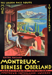 Montreaux Bernese Oberland Golden Pass-Anonymous