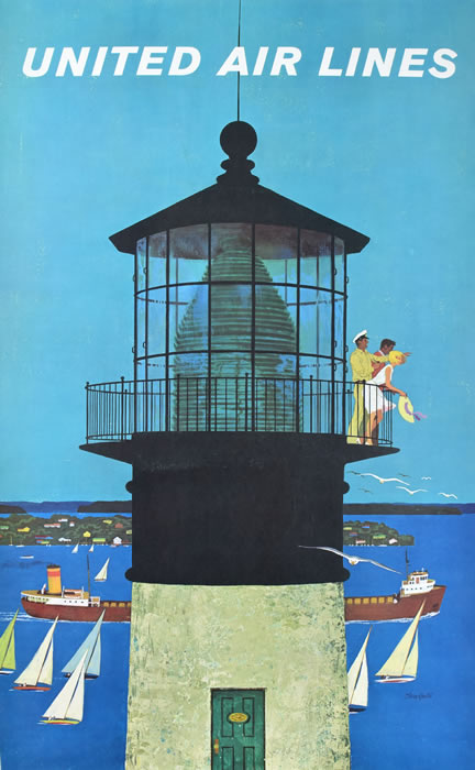 United Airlines Lighthouse-Galli