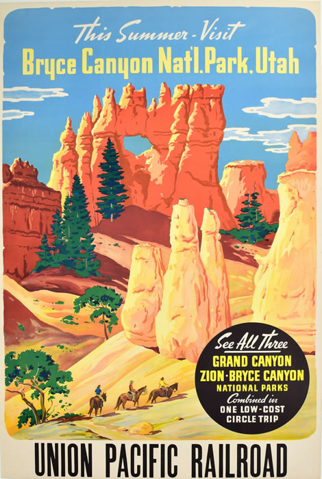 Bryce Canyon Union Pacific