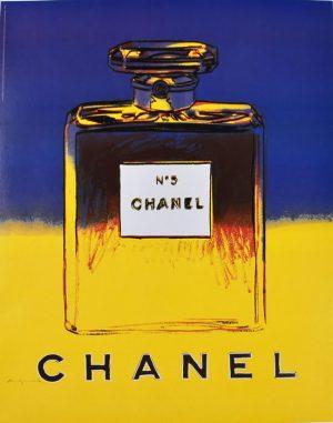 Chanel No. 5 Blue Yellow