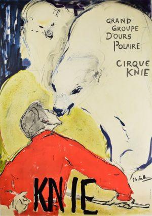 Circus Knie Polar Bears