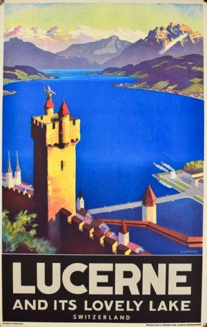 Lucerne & it's Lovely Lake
