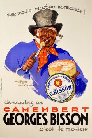 Camembert Georges Bisson-Le Monnier
