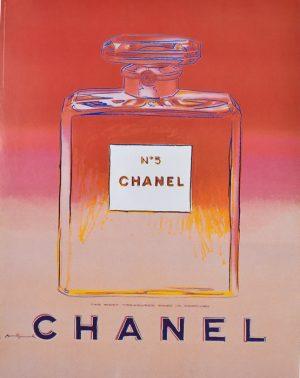 Pink & Red Chanel No. 5-Warhol