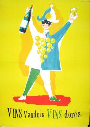 Vins Vaudois Vins Dores (French)-Leupin