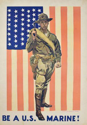 Be a U. S. Marine