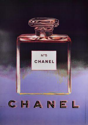 Chanel No. 5 Purple & Black