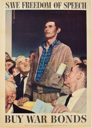 Four Freedoms - Speech (Sold as Set)