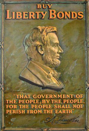 Abraham Lincoln Buy Liberty Bonds