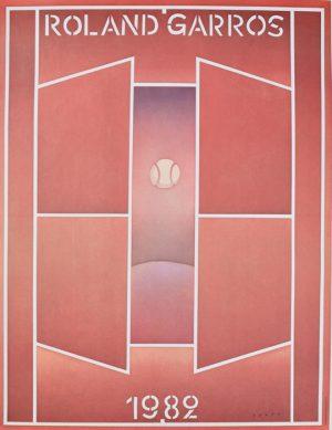 Roland Garros 1982 - Folon